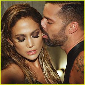 Ricky Martin Seductively Bites Jennifer Lopez's Ear in Wisin's 'Adrenalia' Music Video - Watch Now!