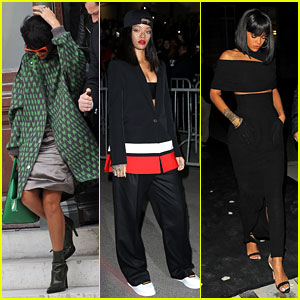 Rihanna Continues Fashion Week Fun in Paris