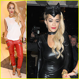 Rita Ora Is a Sexy Catwoman Partying in London!