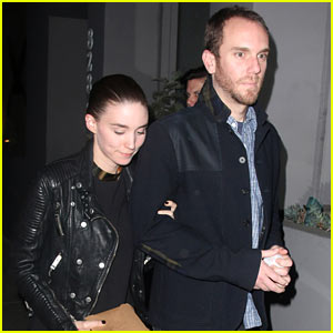 Rooney Mara Keeps Close to Boyfriend Charles McDowell After Dinner Date