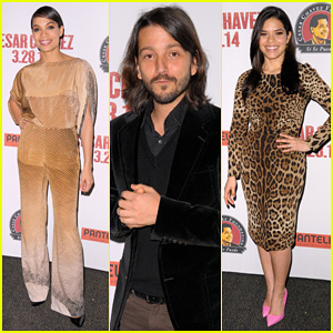 Rosario Dawson & America Ferrera Attend 'Cesar Chavez' Screening!