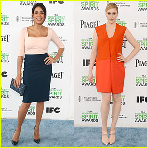 Rosario Dawson & Greta Gerwig: Stunning Presenters at Independent Spirit Awards!
