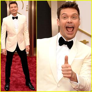 Ryan Seacrest - Oscars 2014 Red Carpet