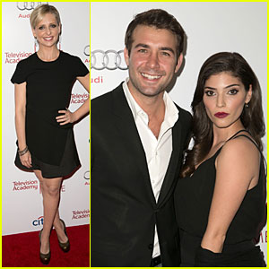Sarah Michelle Gellar & James Wolk Are 'The Crazy Ones' at Hall of Fame Gala!