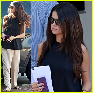 Selena Gomez Takes Care of Business in Los Angeles