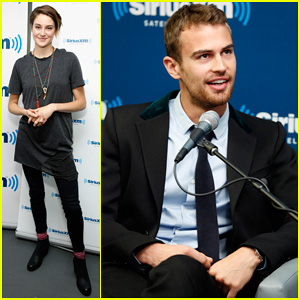 Shailene Woodley Joins Theo James For EW's 'Divergent' Radio Special at SiriusXM!