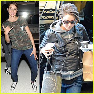 Shailene Woodley Likes to Hang Loose with Her Tongue Out!