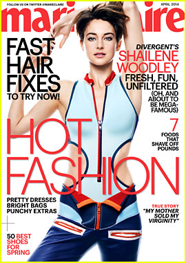 Shailene Woodley Details Her First Kiss for 'Marie Claire'!