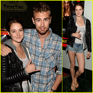Shailene Woodley & Theo James Greet All It Takes Supporters at 'Divergent' Screening!