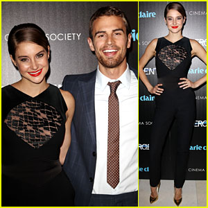 Shailene Woodley & Theo James Smile So Wide at the 'Divergent' NYC Screening That We're Smiling Too!