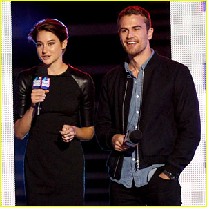 Shailene Woodley & Theo James Take 'Divergent' to SXSW 2014