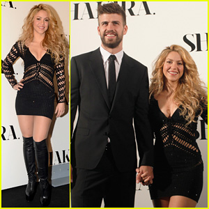 Shakira & Gerard Pique Look So Happy Together While Promoting Her Album!