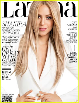 Shakira Opens Up About Baby Milan & Partner Gerard Pique with 'Latino' April 2014