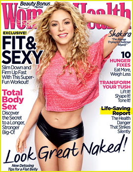 Shakira Gives Us a Peek at Her Rockin' Abs for Women's Health's April 2014
