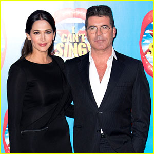 Simon Cowell & Girlfriend Lauren Silverman Walk First Red Carpet Together!
