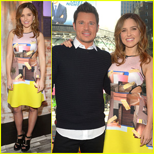 Sophia Bush & Nick Lachey Reminisce About Kissing on 'Big Morning Buzz Live'!