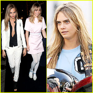 Suki Waterhouse & Cara Delevingne: Burberry's British Babes Party Together in London!