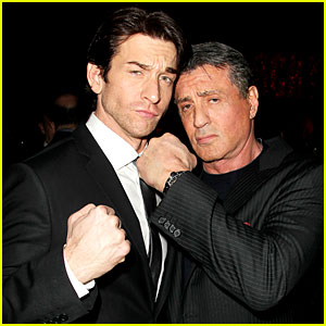 Sylvester Stallone Knocks Out Broadway's Rocky at Opening Night Party!