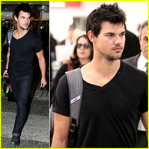 Taylor Lautner Jets Off to London, Will 'Cuckoo' Film Soon?