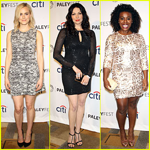 Taylor Schilling & Laura Prepon Are All About the Details for 'Orange is the New Black'!