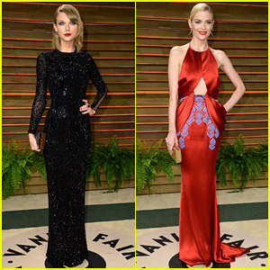 Taylor Swift Glams Up the Vanity Fair Oscars Party 2014 with Jaime King!