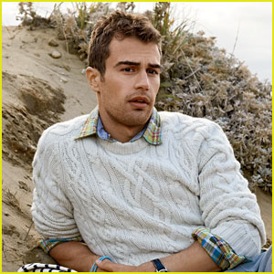 Theo James is a Preppy Hottie for 'GQ' Magazine's March 2014 Issue