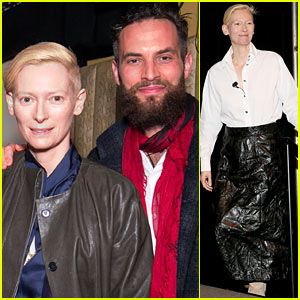 Tilda Swinton Hits SXSW 2014 with Partner Sandro Kopp!