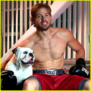 Trevor Donovan Shows Off His Shirtless Bod for a Good Cause