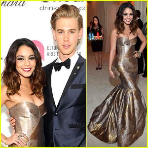 Vanessa Hudgens & Austin Butler: Elton John Oscars Party 2014!