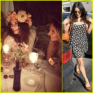 Vanessa Hudgens Channels Her Inner Fairy with Ashley Tisdale!