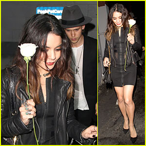 Vanessa Hudgens Definitely Deserves a White Rose From Austin Butler!