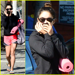 Vanessa Hudgens Steps Out for Sunday Yoga!