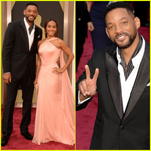 Will and Jada Pinkett Smith - Oscars 2014 Red Carpet