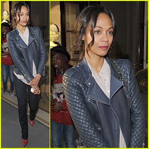 Zoe Saldana Is Happy & Humbled As New Face of L'Oreal!