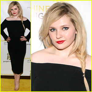 Abigail Breslin Looks All Grown Up at Project Sunshine Benefit!