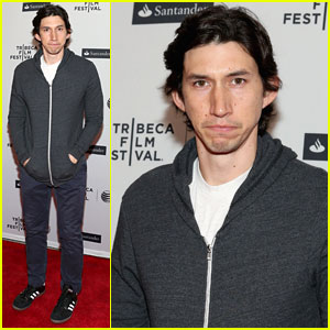 Adam Driver Attends Tribeca Film Festival While We Wait for 'Star Wars' Casting Confirmation