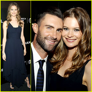 Adam Levine & Behati Prinsloo Party the Night Away at Tribeca!