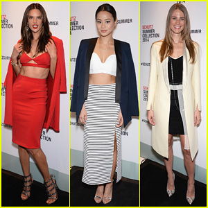 Alessandra Ambrosio & Jamie Chung Help Launch the Schutz Summer Collection 2014!