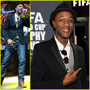 Aloe Blacc Is 'The Man' for Coca-Cola's World Cup Campaign