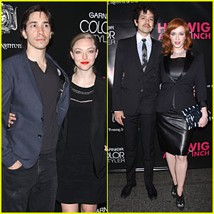 Amanda Seyfried & Justin Long Make First Red Carpet Appearance Together!