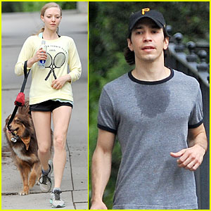 Amanda Seyfried Loves Working Out with Sweaty Boyfriend Justin Long!