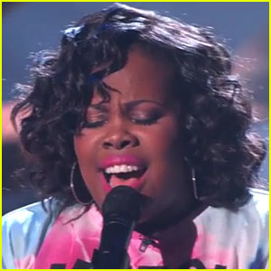 Glee's Amber Riley Debuts New Song 'Colorblind' - Listen & Read Lyrics Right Here!