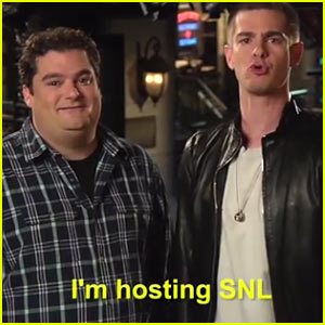 Andrew Garfield Barks Like a Dog for 'Saturday Night Live' Promos - Watch Now!