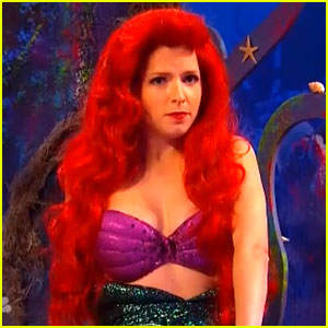Anna Kendrick: Little Mermaid's Ariel Sings Pop Songs on 'SNL'!