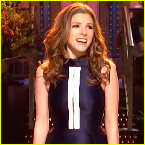 Anna Kendrick Sings Her 'SNL' Monologue to Tune of 'Belle' - WATCH NOW!