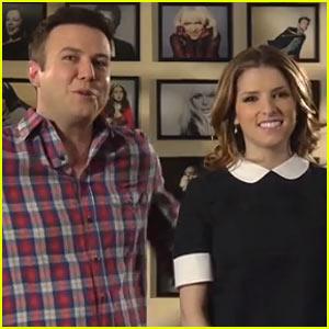 Anna Kendrick Harmonizes with Taran Killam for 'SNL' Promos - Watch Now!