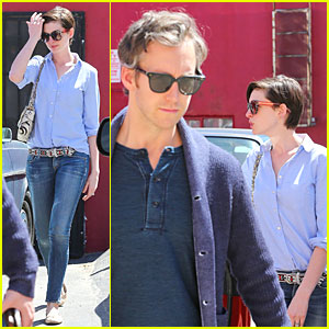 Anne Hathaway & Adam Shulman Want More Antiques for Their Home!