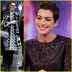 Anne Hathaway Chooses Kate Middleton as Her Favorite Princess!