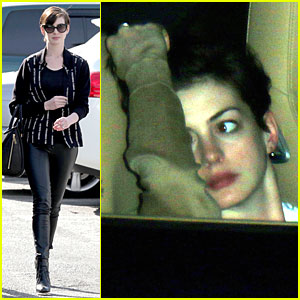 Anne Hathaway Spreads Word on 'No Smoking' in Many Different Languages!