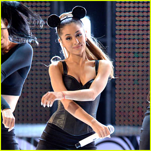 Ariana Grande Performs 'Problem' Live for First Time! (Video)